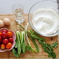 小番茄炒鸡蛋拌手擀面——秋风渐起,来一碗有温度的面的做法图解1