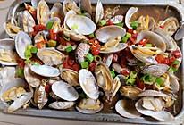 #宅家厨艺 全面来电#蒜蓉蛤蜊金针菇的做法
