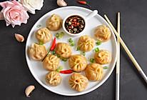 蒜香南瓜蒸饺的做法