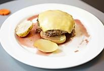 #520,美食撩动TA的心!#红酒汉堡排的做法