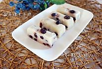 蓝莓奶香糯米年糕#果瑞氏#的做法