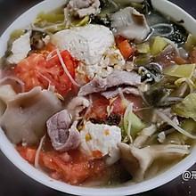 一道菜搞定荤、素、汤之荤豆花