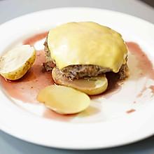 #520,美食撩动TA的心!#红酒汉堡排