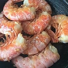 黄油蒜蓉大虾
