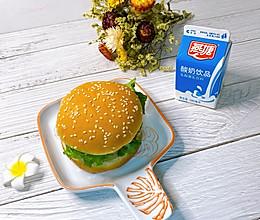 #营养小食光#牛肉汉堡包的做法