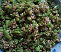 辣椒炒面的做法