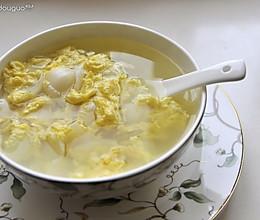 百合鸡蛋汤的做法