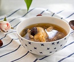 #小熊养生壶食谱#姬松茸鸡脚炖花胶的做法