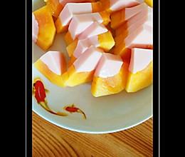 不用吉利丁片的木瓜奶冻的做法