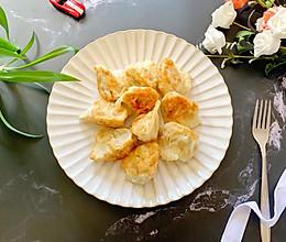 #肉食者联盟#快手煎水饺的做法