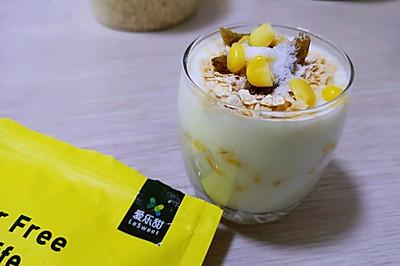 快手早餐~玉米燕麦酸奶杯