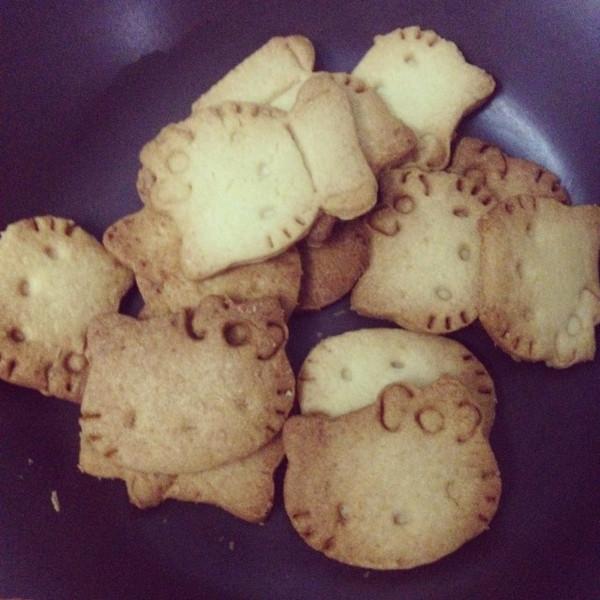 黄油手工造型饼干的做法