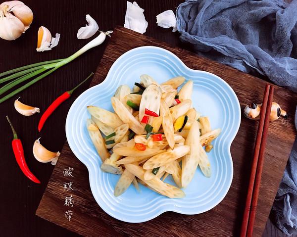 #父亲节,给老爸做道菜#酸辣藕带的做法