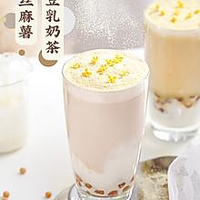 巨拉丝又能喝的麻薯豆乳奶茶(可成减肥健康饮品)