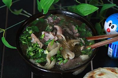羊杂汤(含水盆羊肉)——贴秋膘了!