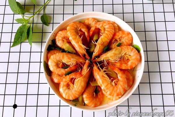 盐水基围虾#豆果魔兽季部落#的做法