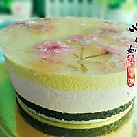樱花水果慕斯蛋糕#浪漫樱花季#的做法图解17