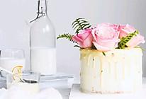 白巧克力淋面蛋糕的做法
