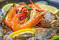 盐焗虾蛤的做法
