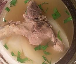 白萝卜大骨汤的做法