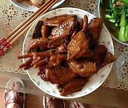 红烧鸡爪和鸡翅的做法