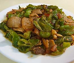 青椒炒腊肉的做法