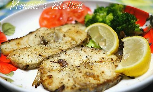 『快手料理』黑椒银鳕鱼的做法