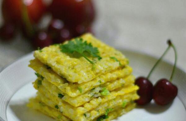 鸡蛋米饭饼