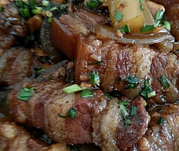 焖肉的做法