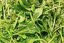 凉拌菜—芝麻菜叶子的做法