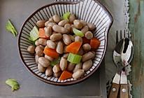 芹菜胡萝卜拌花生的做法