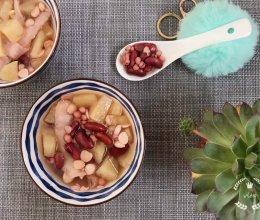 #520,美食撩动TA的心!#杏仁薏米红腰豆甜汤-消暑瘦身的做法
