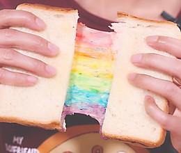 彩虹芝士吐司的做法