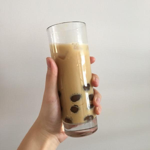 手作黑糖珍珠奶茶的做法