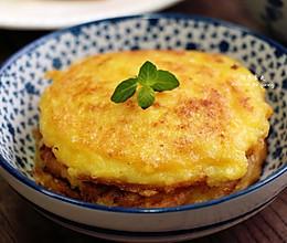 玉米粒糯米饼