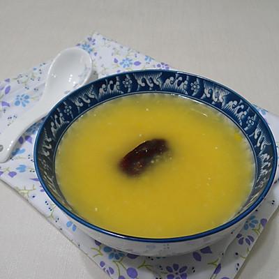 山西农家新鲜玉米红枣粥