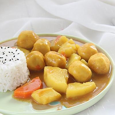 风靡各地的街头小吃——咖喱鱼蛋