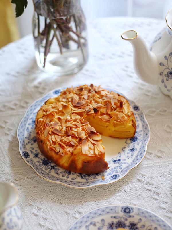 零失败,无需打发的苹果千层蛋糕,巨好吃