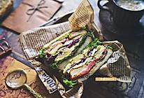 加厚三明治#美食新势力#的做法