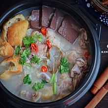 #人人能开小吃店#清炖羊肉汤,汤白味鲜一锅不够喝