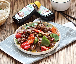 蚝油双椒牛肉的做法