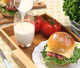营养早餐汉堡的做法