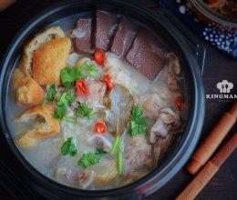#人人能开小吃店#清炖羊肉汤,汤白味鲜一锅不够喝的做法