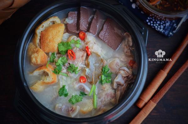 清炖羊肉汤,汤白味鲜一锅不够喝的做法