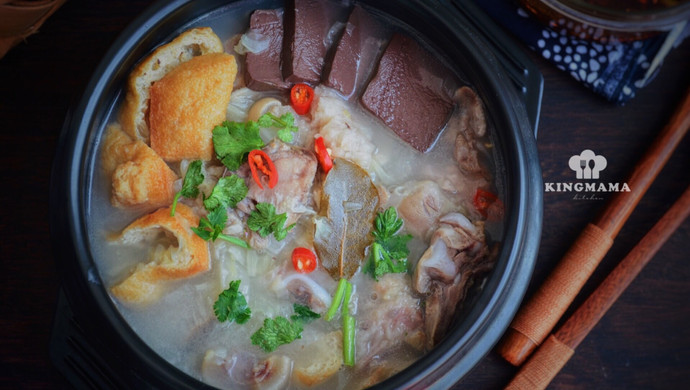 清炖羊肉汤,汤白味鲜一锅不够喝