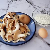 干炸鲜蘑的做法图解1