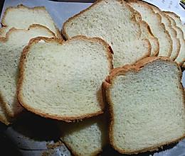 面包机版超软吐司的做法