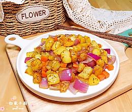 孜然洋葱炒土豆的做法
