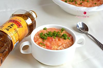 西红柿鸡蛋疙瘩汤#舌尖上的外婆香#