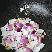 腊肉土豆焖饭的做法图解6